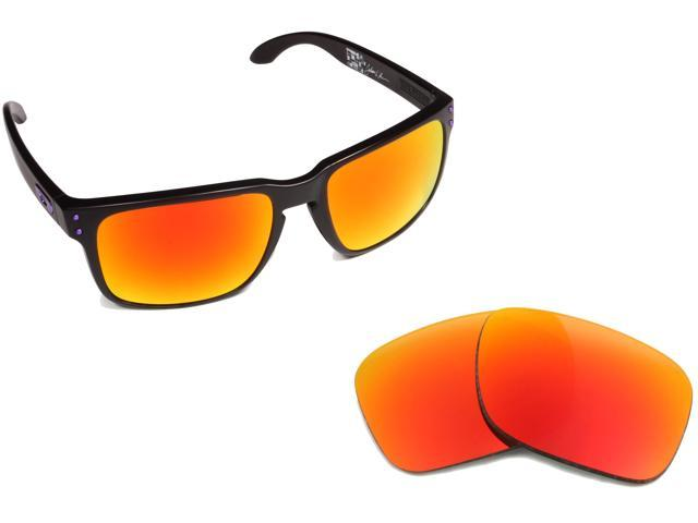 330a2d7fa1f Holbrook Replacement Lenses Red Mirror by SEEK fits OAKLEY Sunglasses
