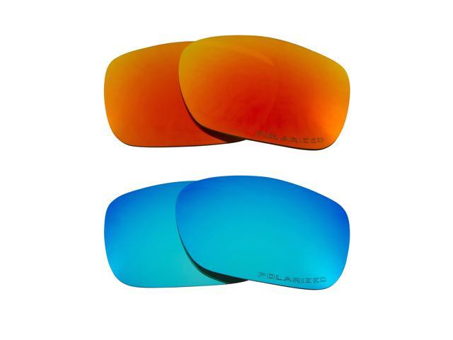 be905e3b1f Best SEEK Polarized Replacement Lenses for Oakley TWOFACE Red Blue Mirror