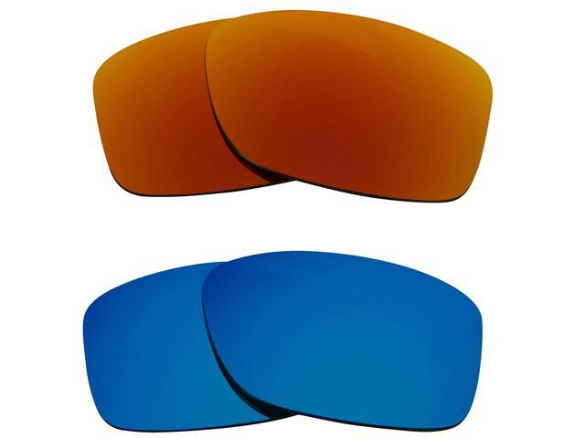 3a34b267a7 Best SEEK Replacement Lenses for Oakley JUPITER SQUARED Red Blue Mirror