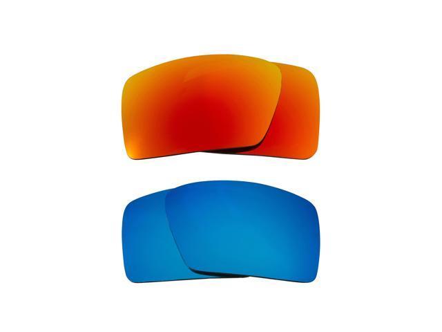 84cda36b34 Best SEEK Polarized Replacement Lenses for Oakley EYEPATCH 1 Blue Yellow  Mirror