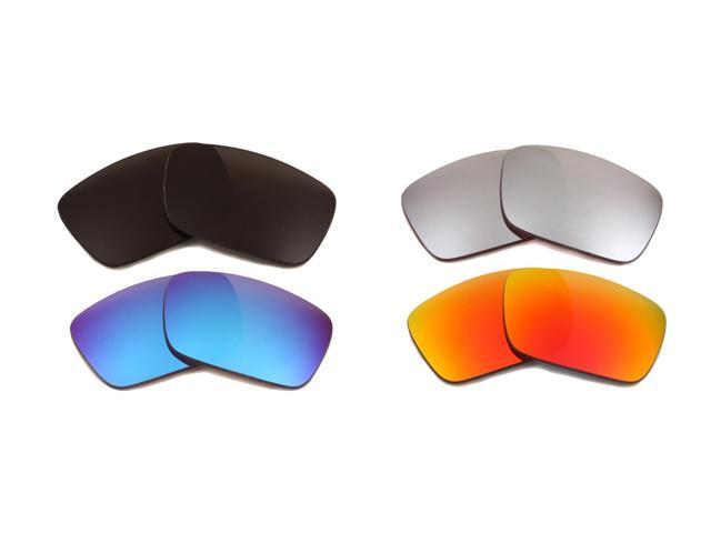 5fcbf0b35c3 Best SEEK Replacement Lenses for Oakley FUEL CELL Grey Red Silver Blue  Mirror