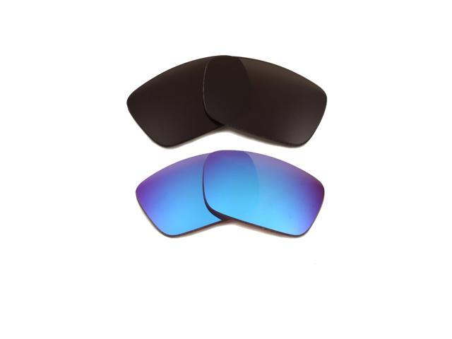 bddc168cf37 Best SEEK Replacement Lenses for Oakley FUEL CELL Grey Blue Mirror