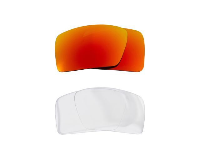 a88239e7ea Best SEEK Replacement Lenses for Oakley EYEPATCH 2 Clear Yellow Mirror