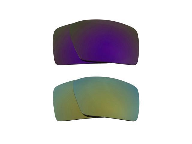 bc85f4646c Eyepatch 2 Replacement Lenses Purple   Green by SEEK fits OAKLEY Sunglasses