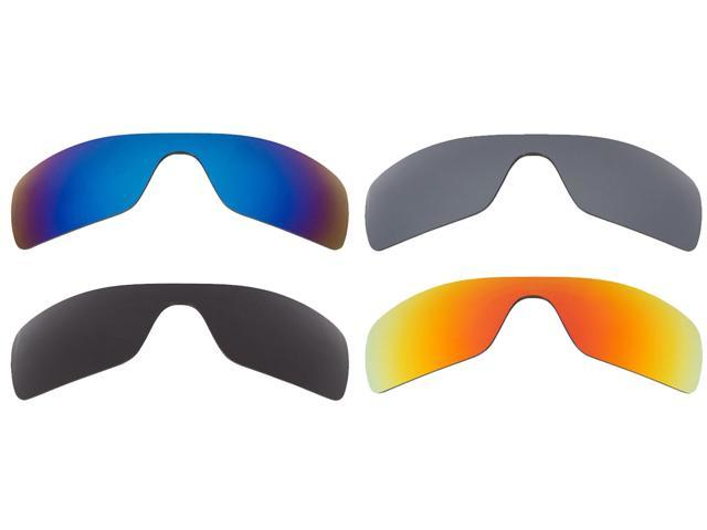 6d31749e53 Batwolf Replacement Lenses Polarized Grey Blue Red   Silver by SEEK fits  OAKLEY