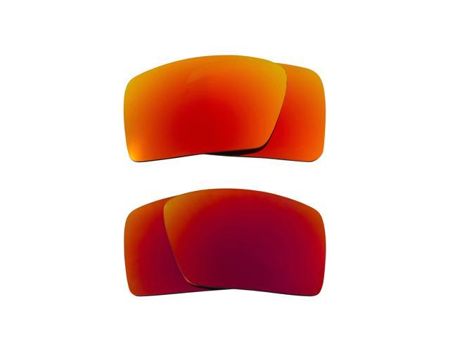 3f3dd67ac6 Best SEEK Polarized Replacement Lenses for Oakley EYEPATCH 1 Red Yellow  Mirror