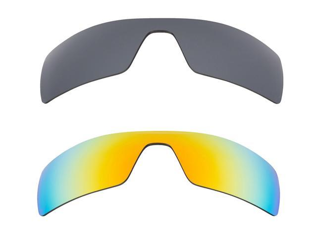 8d0adc825 Best SEEK Polarized Replacement Lenses for Oakley OIL RIG Silver Mirror  Yellow