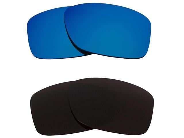 a867dfd13d Best SEEK Replacement Lenses for Oakley JUPITER SQUARED Brown Blue Mirror