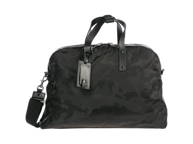 valentino travel duffle weekend shoulder bag nylon black aac981f897f6d
