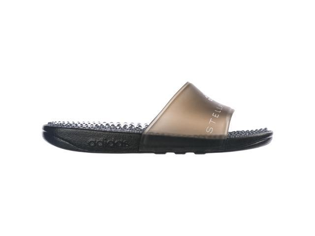 b1cf42ccb3d1 ADIDAS BY STELLA MCCARTNEY WOMEN S RUBBER SLIPPERS SANDALS ADISSAGE BLACK