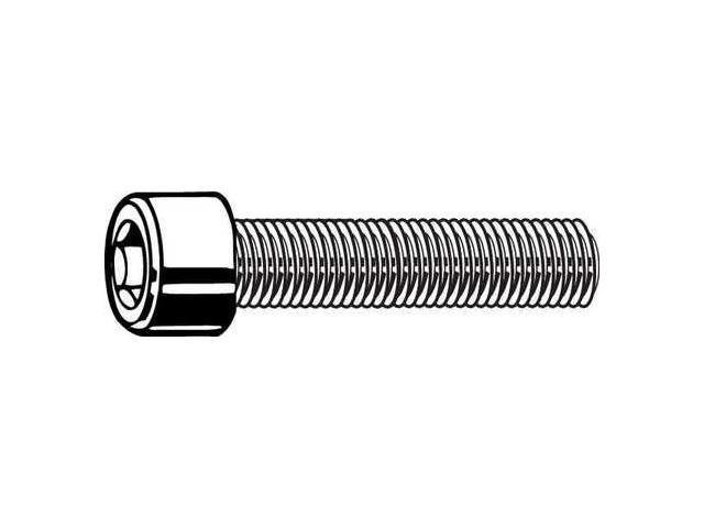 8-36x1//2 Socket Allen Head Cap Screw Stainless Steel Fine Thread #8 x 1//2 50