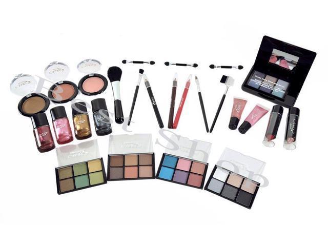 B220 Cameo Collection 26PCS Carry All Trunk - Professional EyeShadows Makeup Kit Set Makeup Kit with