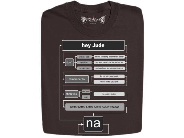 stabilitees hey jude english rock music diagram t shirts newegg com rh newegg com Hey Jude Tattoo Hey Jude Flow Chart