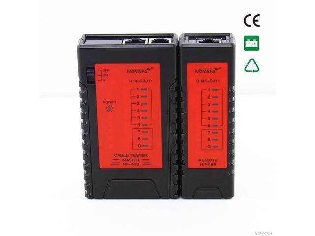 RJ45 RJ11 CAT5 CAT6 UTP STP NETWORK LAN CABLE TESTER Handy Modular Cable Tester