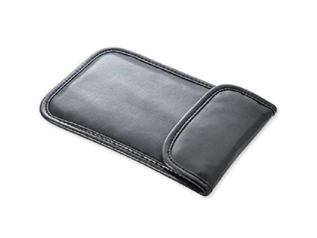 Faraday Bag Key Fob Signal Blocking, Faraday Cage Protector RFID Blocking,  Nano Car Key fob Case PU Leather Cell Phone Anti-tracking Anti-spying GPS