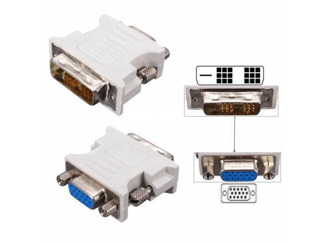 vga female to dvi d 18 1 pin single link male converter dvi-d male dvi d to vga wiring #11
