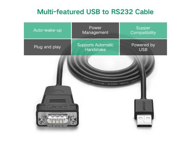 OMNIHIL 15 Feet Long High Speed USB 2.0 Cable Compatible with Brother HL-L2320D