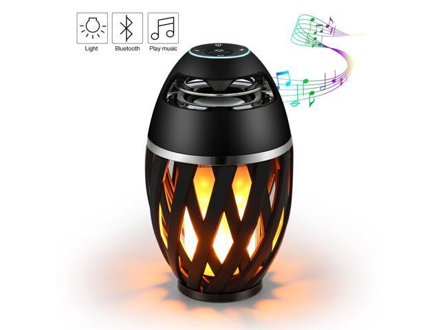 Portable Bluetooth Stereo Speaker with HD Audio and Enhanced Bass Outdoor Black