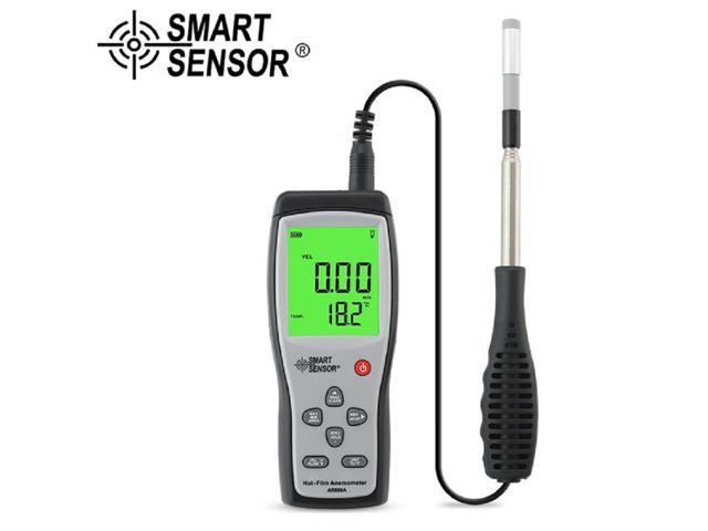 Digital Thermal Anemometer Wind Speed Tester AR866A