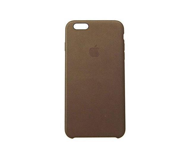 the latest 20b1e 63d25 Apple Brown iPhone 6s Plus Leather Case MKX92ZM/A - Newegg.com