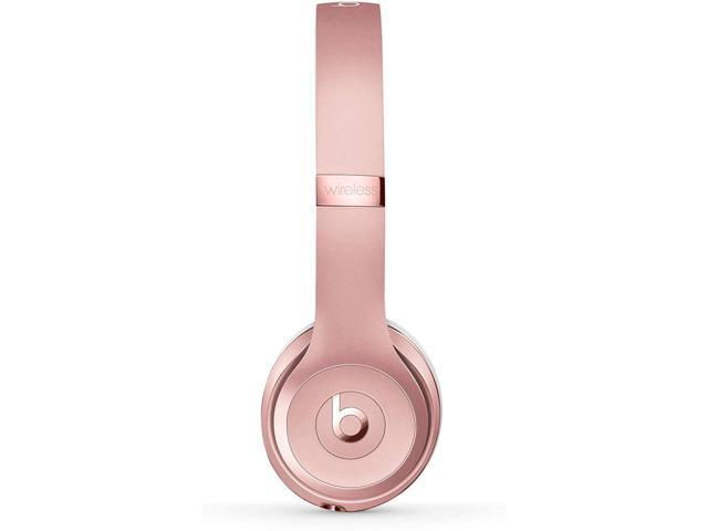 Beats By Dr Dre Beats Solo3 Wireless On Ear Headphones Rose Gold Newegg Com