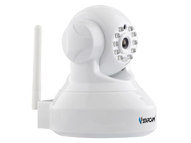 VStarcam C7837WIP 1 0 MegaPixel P/T Pan/Tilt Wireless 2 way Audio Wifi  Security Surveillance Network CCTV Cam Night Vision PnP Plug$&Play TF Card  Slot