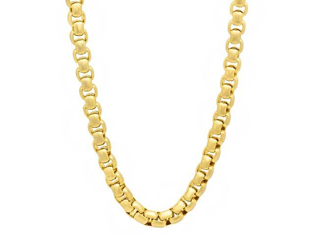 14K Yellow Gold Jamaica No Problem Pendant on an Adjustable 14K Yellow Gold Chain Necklace