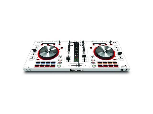 Numark Mixtrack Pro 3 All-In-One DJ Controller for Serato DJ (White) -  Newegg com