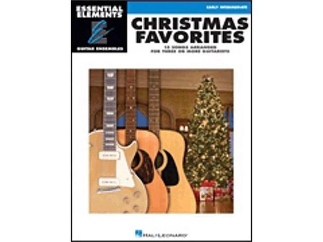 hal leonard christmas favorites essential elements guitar. Black Bedroom Furniture Sets. Home Design Ideas