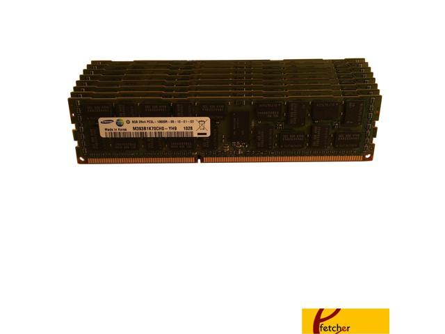 48GB Certified Refurbished PC3-12800R 1600MHz DDR3 ECC Registered Memory Kit for a Supermicro X9DRi-F Server 12x4GB
