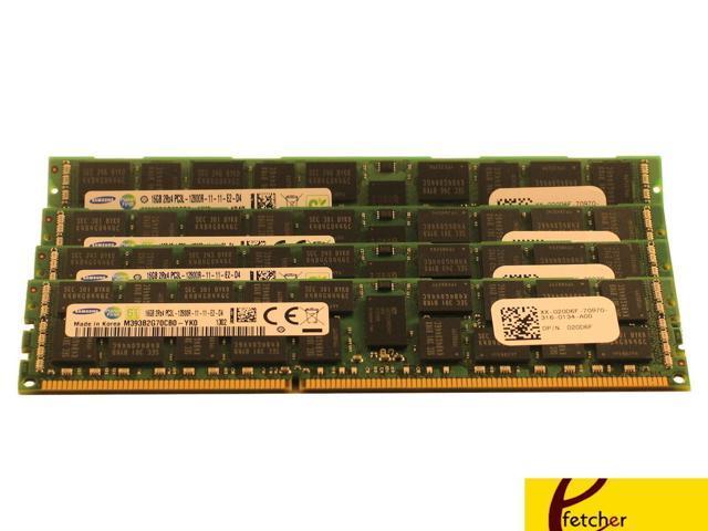 12x8GB DDR3 PC3L-10600R ECC Reg Server Memory RAM Dell PowerEdge R420 96GB