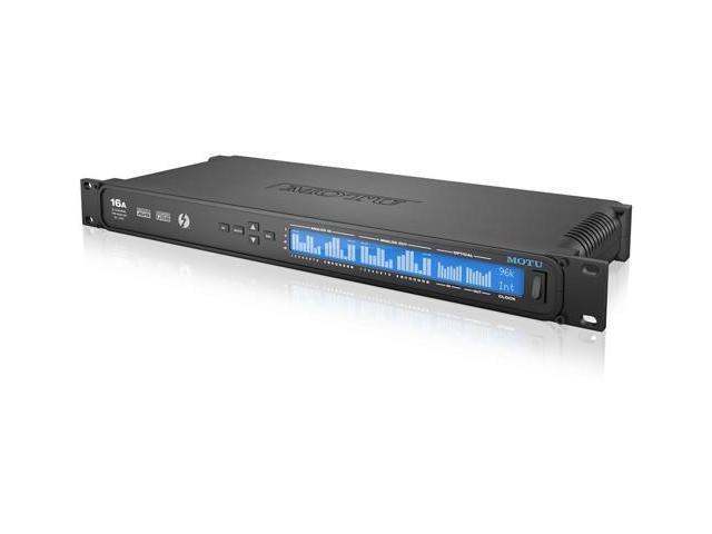 MOTU 16A 16-Channel Thunderbolt / AVB Ethernet / USB Audio Interface -  Newegg com