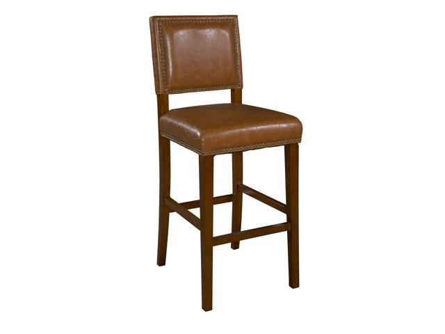 Linon Home Décor Linon Brown Brook Counter Stool CARAMEL