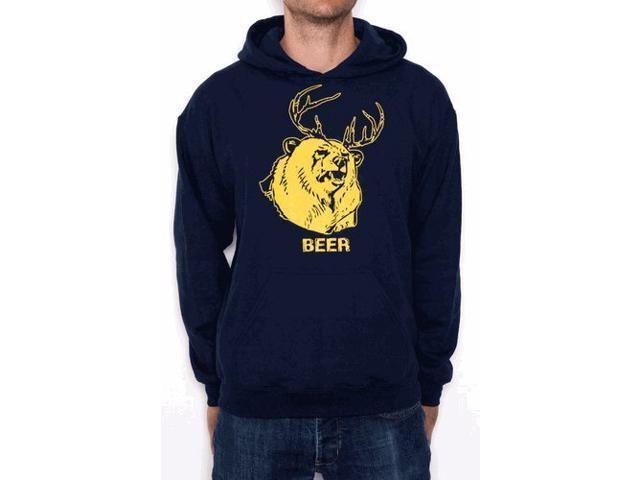 7723d1fe8 It's Always Sunny in Philadelphia Beer Bear+Deer Mac Adult Sweatshirt Hoodie