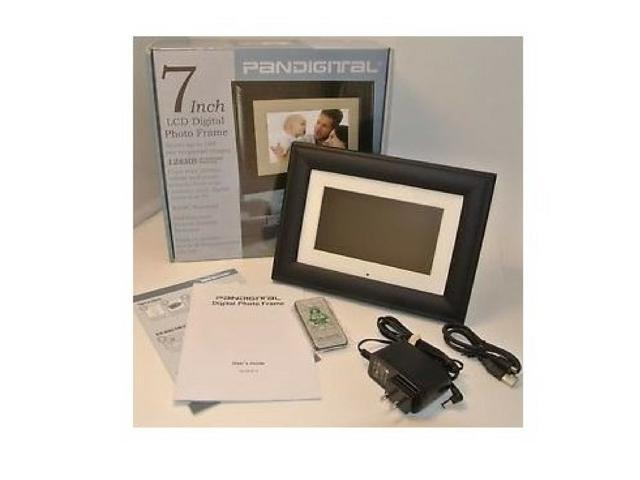Pandigital 7 Inch Lcd Digital Picture Frame New 512mb Stores Up To