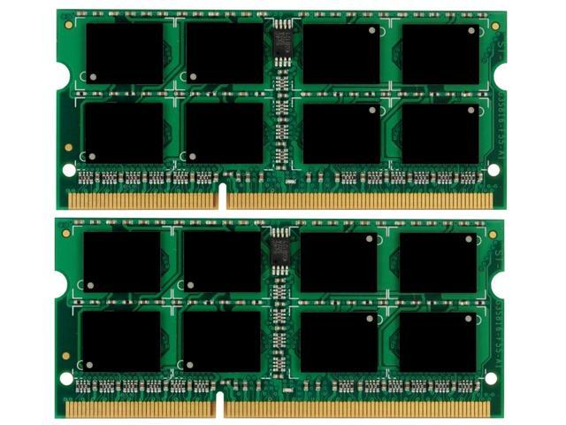 Crucial 8GB KIT 2X4GB PC3-8500S DDR3-1066Mhz 204Pin SO-DIMM Laptop Memory Ram