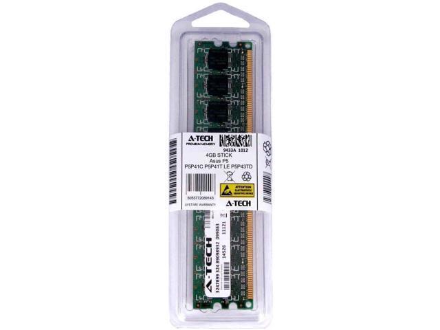 4GB DIMM Asus P5P41C P5P41T LE P5P43TD P5P43TD Pro P5P43TD/USB3 Ram Memory  - Newegg com
