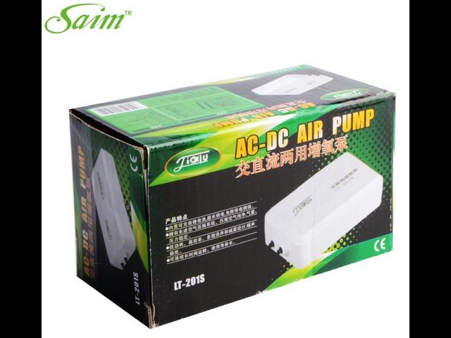 4e4ebba8cc6 Aquarium AC DC Electric Air Pump Silent Rechargeable Battery Fish Oxygen  Pump