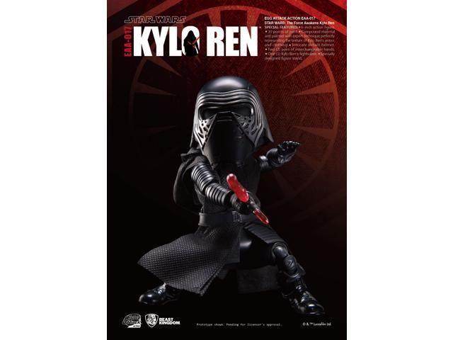 Star Wars Beast Kingdom Egg Attack Action EAA-017 Kylo Ren Action Figure