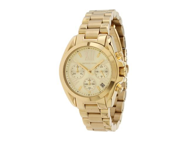 c8296d713016 Michael Kors Bradshaw Gold-Tone Chronograph Ladies Watch MK5798