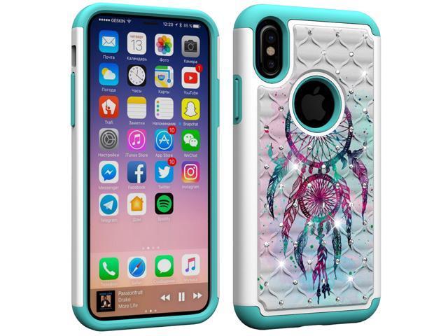 best website 20d00 f2511 Aiyze Compatible Apple iPhone XS Case, iPhone X Case, iPhone 10 Case,  iPhone Ten Cover 5.8