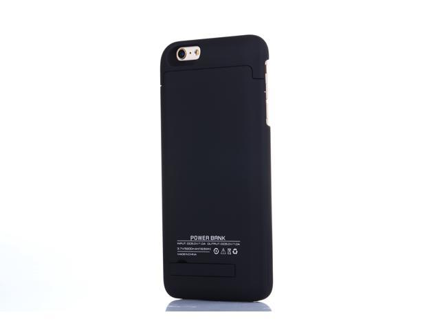 buy online 9ba35 d02cd iPhone 6 Plus (5.5 Inch) Rechargeable Battery Case, 5200mAh Slim Backup  Portable Exteranl Power Bank Charger Case Battery Pack Case with Pop-out ...