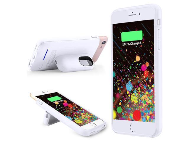 separation shoes eeaac 63b3a iPhone 7 Plus Battery Case Charger 4200mAh Slim Charging Case Magnetic  Function External Charger Case for iPhone 7 Plus/ 6 Plus/6S Plus/ 8 Plus ...