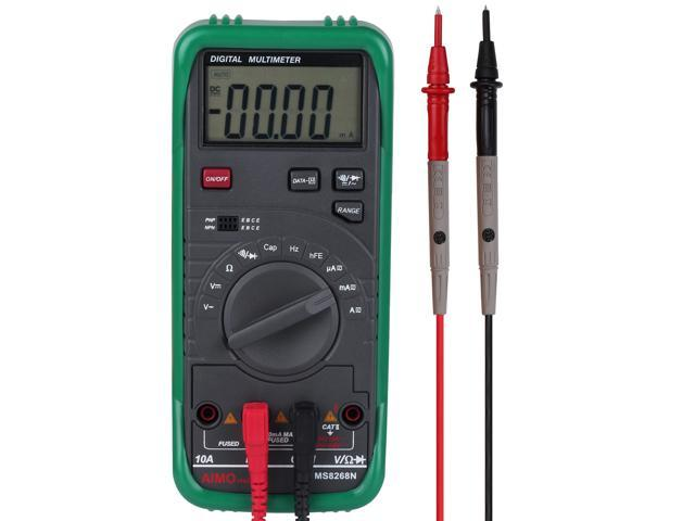 Aimometer MS8268N Auto Range Digital Multimeter for AC/DC Voltage/Current  Frequency Resistance Capacity Diode Test - Newegg com