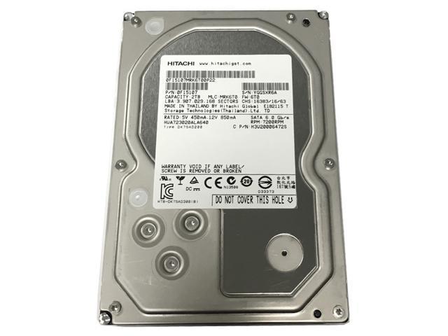 Hitachi HGST UltraStar 7K3000 2TB 3,5 SATA-600 64MB 7200RPM recertified RAID 24x7 ENTERPRISE HUA723020ALA641
