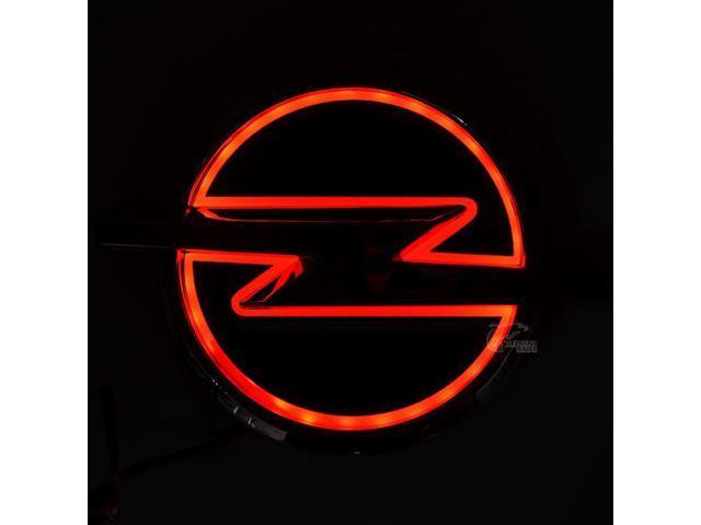 5d Abs Car Frontrear Logo Led Light Auto Emblem Badge Laser Bulb