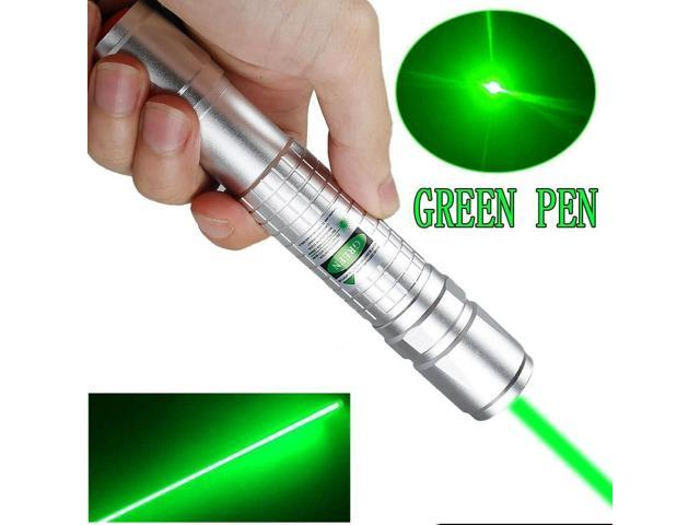 900Miles Super Strong Green Laser Pointer Pen Amazing Star Beam Torch+Charger