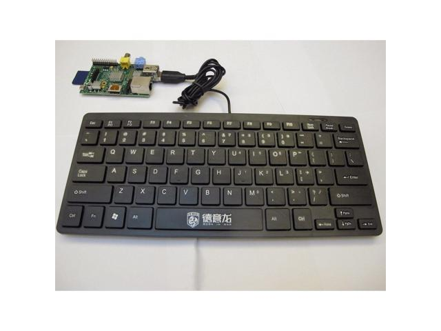 Mini USB keyboard for Raspberry Pi Slim Silent Wired - Newegg com