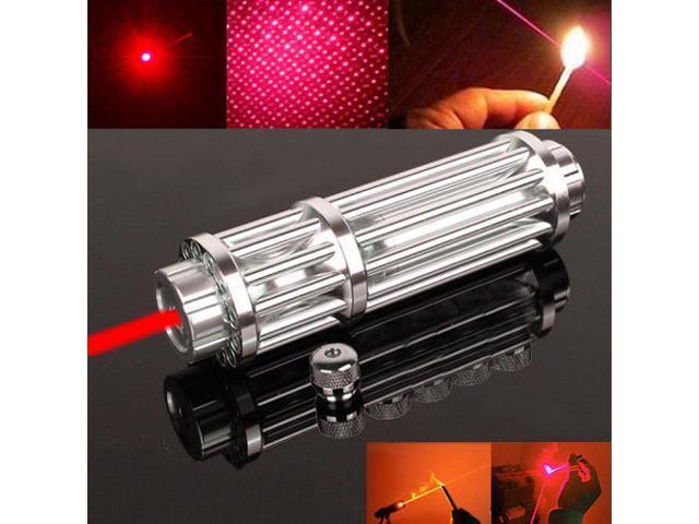Astronomy 900 Miles 650nm Red Laser Pointer Pen Star Pattern 18650 Lazer Light