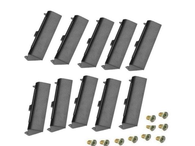 10X LAPTOP HARD DRIVE CADDY COVER WITH SCREW FOR DELL LATITUDE E6420 ATG E6520